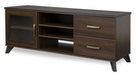 Caraco Collection 58''W TV Stand Mocha [4079677-FS-SS]