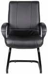 Caressoft™ Mid Back Guest Chair - Black [B7909-FS-BOSS]