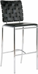 Carina-B Bar Chair in Black (Set of 2) [02431-FS-ERS]