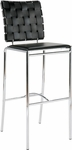 Carina-C Counter Chair in Black (Set of 2) [02421-FS-ERS]