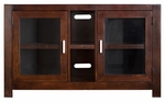 kathy ireland Home™ Carlton Collection 50''W x 30''H Mid Size Television Console -Bourbon [CN350-FS-KIMF]