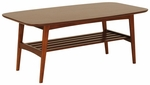 Carmela Coffee Table in Walnut [33207WAL-FS-ERS]