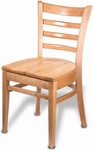 Carole Armless Guest Chair - Wood Seat [CAROLE-SIDE-CHAIR-FS-HSAG]