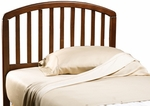 Carolina Wood Arched Headboard with Rails - Full or Queen - Cherry [1593HFQR-FS-HILL]