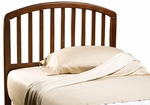Carolina Wood Arched Headboard with Rails - Twin - Cherry [1593HTWR-FS-HILL]