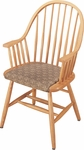 Carriage Wood Arm Chair [401-FS-CMF]