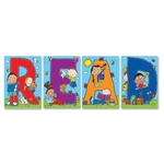 Carson-Dellosa Publishing Bulletin Board - ''Read'' 4 Charts 18'' x 28'' x .625' - Multi Color [CDP110124-FS-SP]