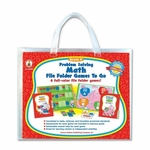 Carson-Dellosa Publishing Problem Solving Math Game - with 6 Games - Grade K [CDP140004-FS-SP]