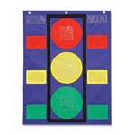 Carson-Dellosa Publishing Stoplight Pocket Chart - 14 -1/2'' x 11 -1/2'' x .5' - Multi [CDP158024-FS-SP]