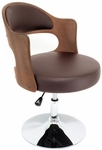 Cello Chair Walnut/Brown [CHR-CLO-WAL-BN-FS-LUMI]