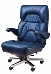 Chairman 2pc Office Chair in Leather [OF-CHRM2PC-L-FS-ARE]