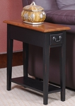 Chairside End Table - Slate Finish [9017-SL-FS-LCK]