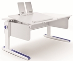 Moll Champion Kids Adjustable Height Desk with Tilting Left Side Work Surface [CHDESK-L-FS-EOS]