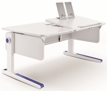 Moll Champion Kids Adjustable Height Desk with Tilting Right Side Work Surface [CHDESK-R-FS-EOS]