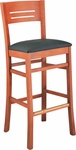 Chandler Wood Bar Stool [5008-FS-CMF]