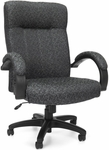 Stature Upholstered Executive Mid Back Conference Chair - Carbon Gray [453-301-FS-MFO]