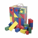 Chenille Kraft Company Colorful Shaped Foam blocks - 68 Piece - Assorted [CKC4380-FS-SP]