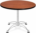 36'' Round Multi-Purpose Table - Cherry [KLT36RD-CHY-MFO]