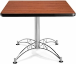 36'' Square Multi-Purpose Table - Cherry [KLT36SQ-CHY-MFO]