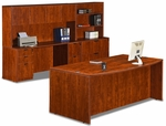 Cherry 9 Piece Executive Office Set [ML341-CHERRY-FS-MAR]