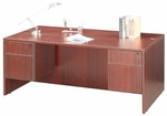 Cherry Double Pedestal Desk [ML358-CHERRY-FS-MAR]