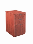 Cherry Mobile Pedestal Box/Box/File with Lock [ML148-CHERRY-FS-MAR]