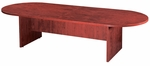 Cherry Racetrack Conference Table with 2-Piece Top [ML137-CHERRY-FS-MAR]