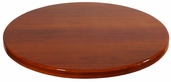 Cherry Resin 24'' Round Indoor Table Top