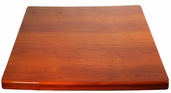 Cherry Resin 36'' x 36'' Square Indoor Table Top
