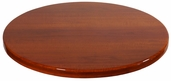 Cherry Resin 42'' Round Indoor Table Top