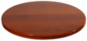 Cherry Resin 48'' Round Indoor Table Top