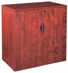 Cherry Small Storage Cabinet with Lock [ML152-CHERRY-FS-MAR]