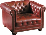 Quick Ship Chesterfield Club Chair [4301-FS-HPF]