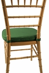 Chiavari Hunter Green 2'' Double-Welted Cushion [CU100-HUNTER-GREEN-CSP]