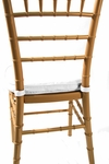 Chiavari White 2'' Double-Welted Cushion [CU100-WHITE-CSP]