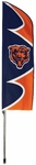 Chicago Bears Swooper Flag w/ Pole [SFCH-FS-PAI]
