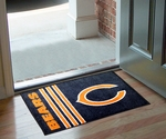 Chicago Bears Uniform Inspired Starter Rug,19'' x 30'' [8245-FS-FAN]