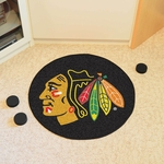 Chicago Blackhawks Puck Mat 27'' Diameter [10279-FS-FAN]