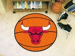 Chicago Bulls Basketball Mat 27'' Diameter [10218-FS-FAN]