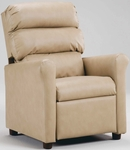 Kids Recliner with Waterfall Back [1455-FS-BZ]