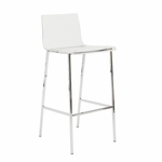 Chloe-B Bar Stool in Clear [80942CLR-FS-ERS]