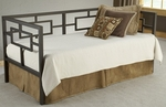 Chloe Heavy Gauge Metal Daybed Set with Suspension Deck - Bronze [1516DBLHTR-FS-HILL]
