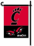 Cincinnati Bearcats 2-Sided Garden Flag [83040-FS-BSI]