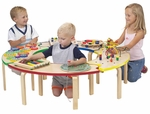 Circle of Fun 12''H Activity Table with 7 Entertaing Toys [COF9012-FS-ANA]