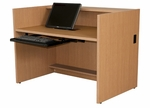 Circulation Desk Shell [3936-TDS-29-PARG]
