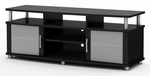 City Life Collection 59''W TV Stand Pure Black [4270677-FS-SS]