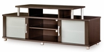 City Life Collection 60''W TV Stand Chocolate [4219601-FS-SS]