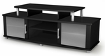 City Life Collection 60''W TV Stand Pure Black [4270601-FS-SS]