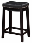 Claridge 24''H Counter Stool - Black [55815BLK01U-FS-LIN]