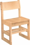Class Act 16''H Kid Sled Chair [17-O-FS-CMF]